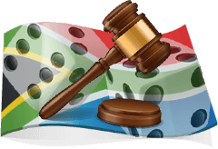 The legal status of online gambling in South Africa