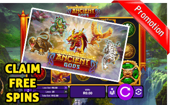 New Ancient Gods Slot Play Now With Free Spins Bonuses