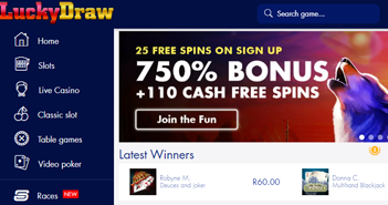 lucky-draw-casino-website-screenshot
